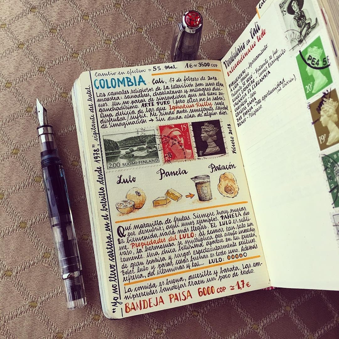 13-Colombia-is-food-Jose-Naranja-Urban-Drawings-Travel-Journal-www-designstack-co