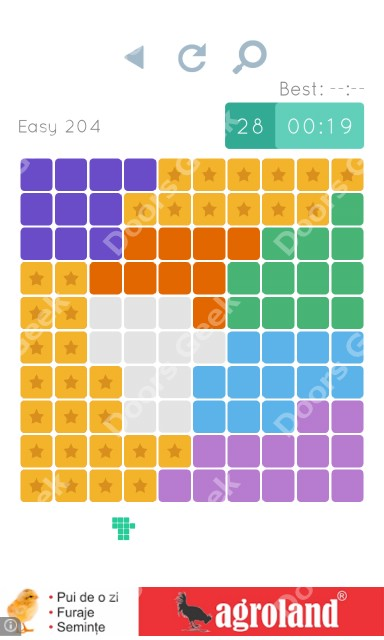 Cheats, Walkthrough for Blocks and Shapes Level 204