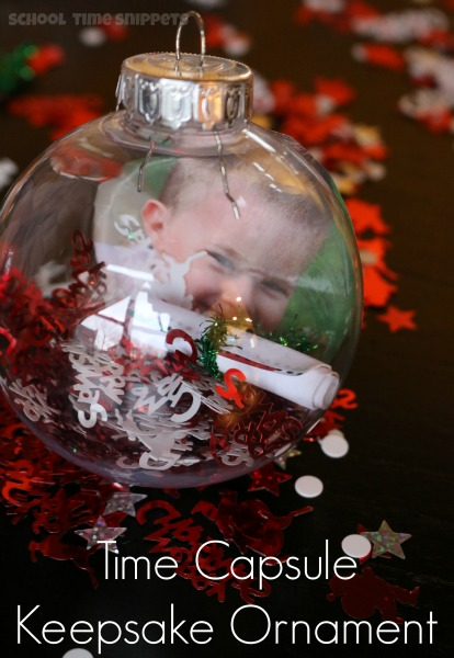 Child's Photo Ornament Keepsake