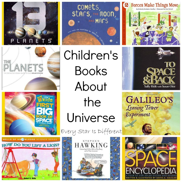 Children's Books About the Universe