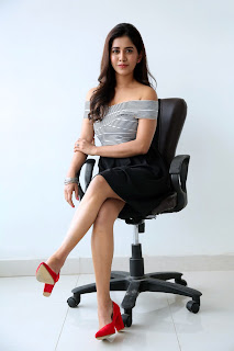 Nabha Natesh at Nannu Dochukunduvate Interview57