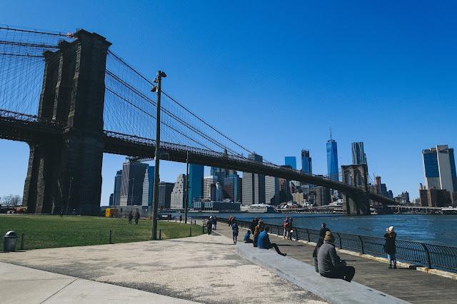 春目前、まだ雪の残るニューヨークをふらっと観光