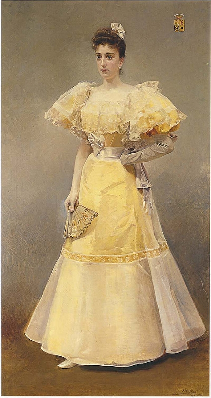 Joaquin Sorolla y Bastida - Portrait of Countess of Santiago