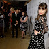 Zooey Deschanel and others at the party women's gloss