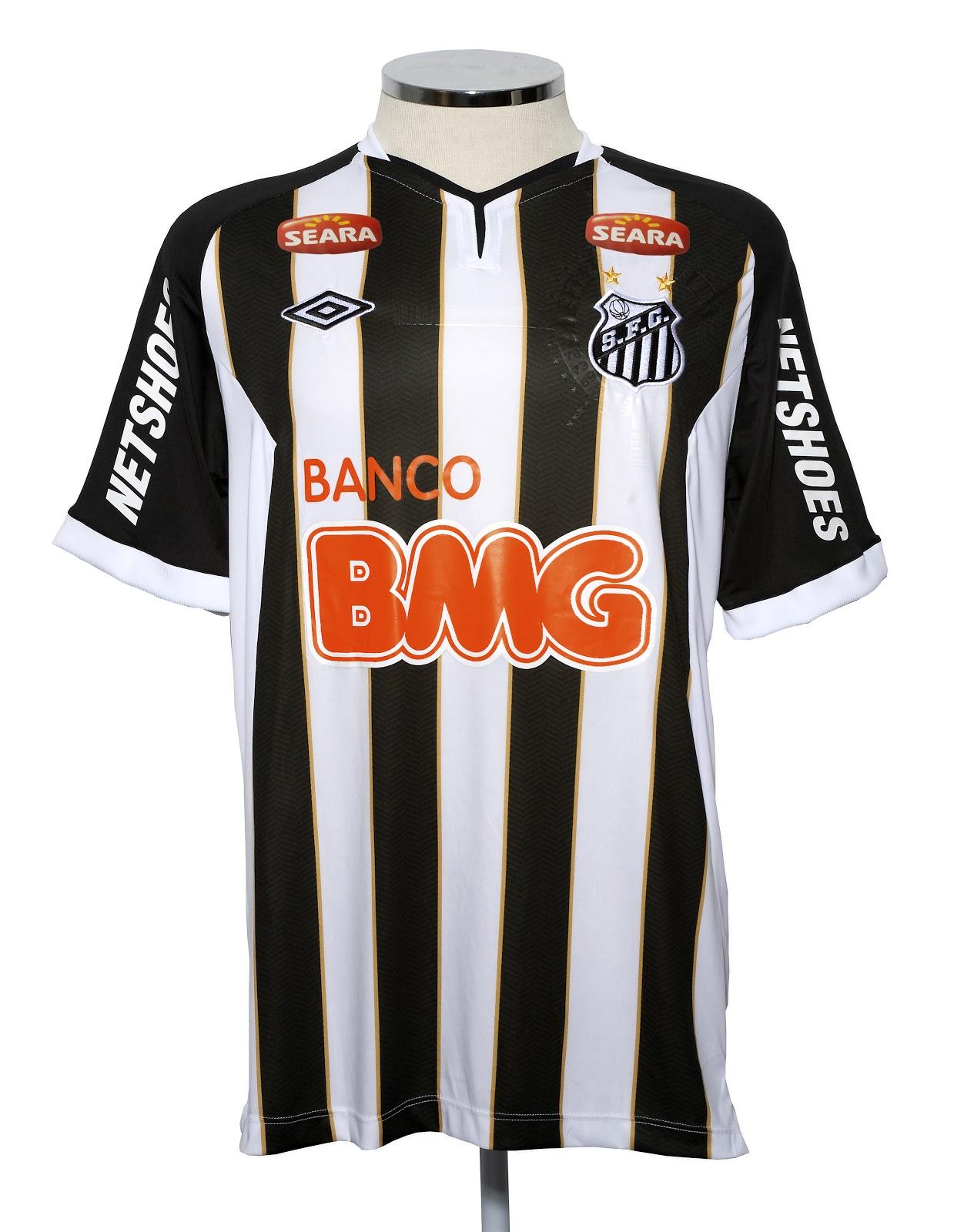 2c00b0de74 Novas camisas do Santos
