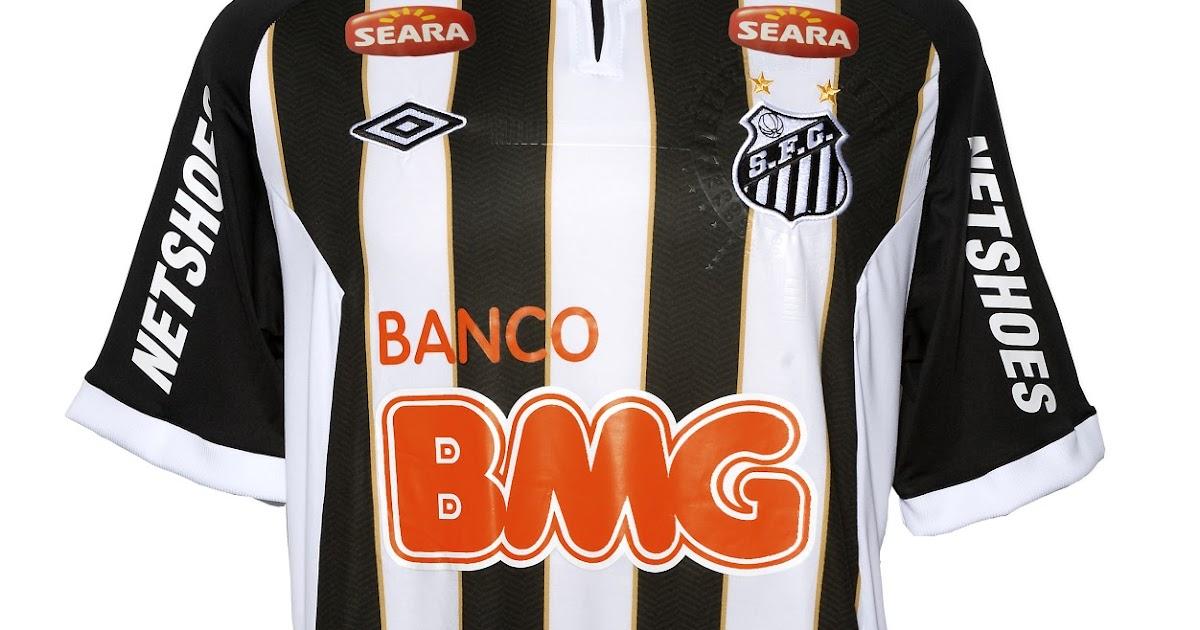 Novas camisas do Santos 909be385ecc6e