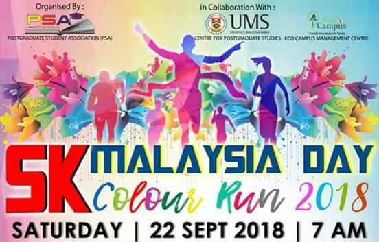 MALAYSIA DAY COLOUR RUN
