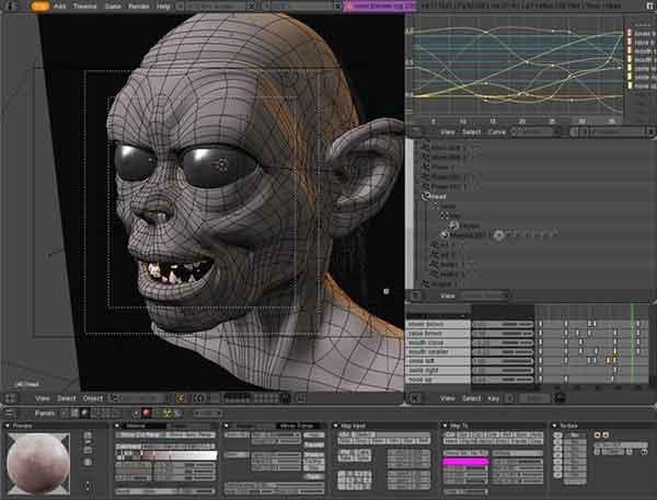 Software edit video terbaik yang bisa dicoba - Blender
