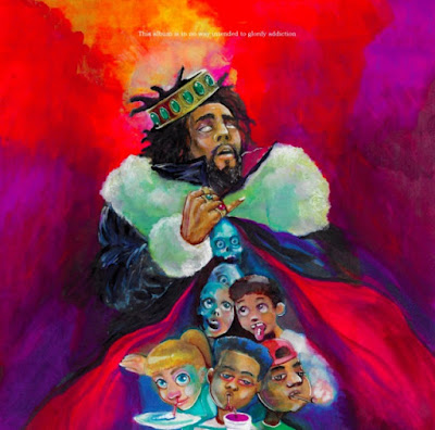"J. Cole Claims Fifth No. 1 Album on Billboard 200 Chart With ""KOD"""