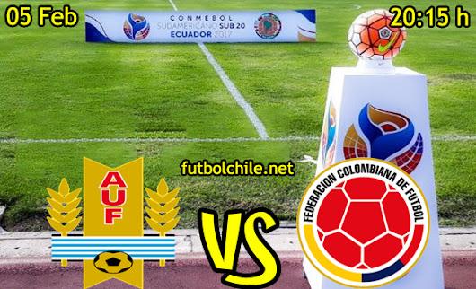 Colombia Sub 20 Contra Uruguay Sub 20: CDF Premium Online Gratis En Vivo.