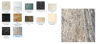 koleksi Texture material granit