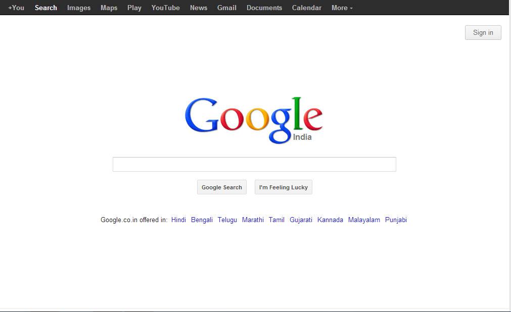 google top10 web search