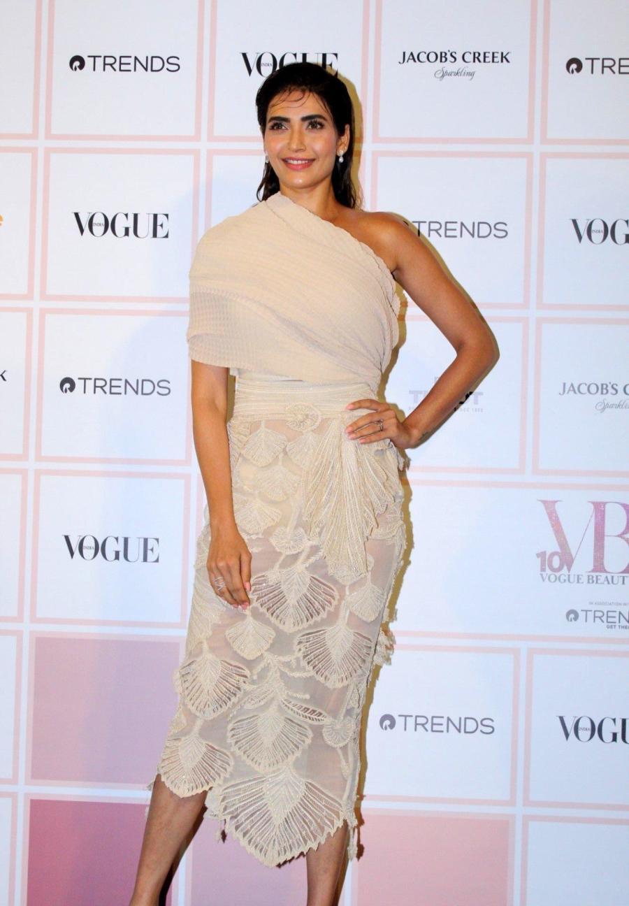 Indian Model Karishma Tanna At Vogue Beauty Awards 2019