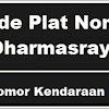 Kode Plat Nomor Kendaraan Dharmasraya