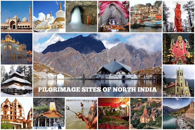 Pilgrimage sites in North India