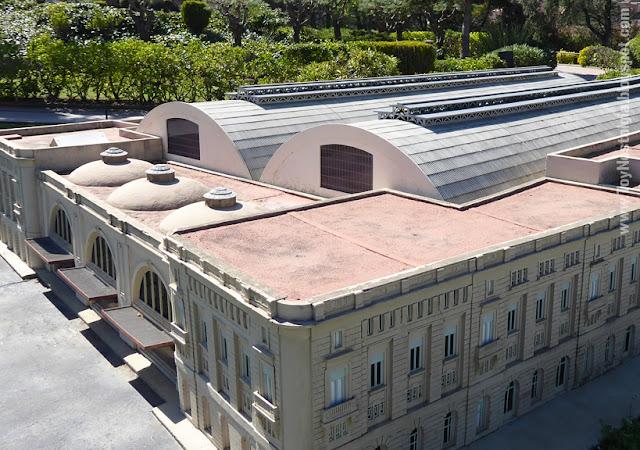 Estación de Francia, vista sobre la c/Marqués d'Argentera -  Catalunya en Miniatura - Catalonia Miniature
