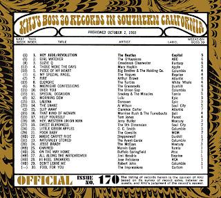 KHJ Boss 30 No. 170 - October 2, 1968