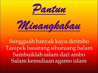 Kumpulan pantun MinangKabau Sumatera Barat - berbagaireviews.com