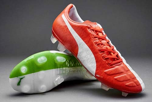 Puma evoPOWER Tricks FG Balotelli Boots with Red/White/Green