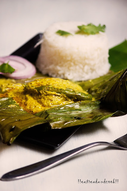 how to cook bengali Macher Paturi recipe / Bengali style Steamed Fish in Banana Leaf recipe / ilish macher sorshe paturi recipe / bhetki macher sorshe paturi recipe and preparation with step by step pictures