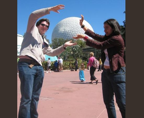 Fotos fail - mal enquadradas- Segurando o globo