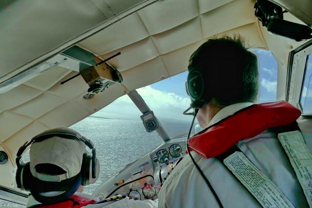 Heron Island Wasserflugzeug Landung Hart schräg steil Piloten Tipps gegen Flugangst