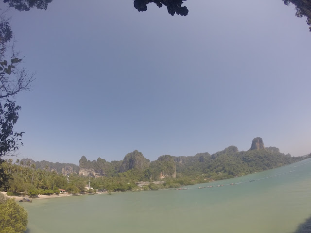 Railay Beach view Thailand