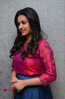 Actress Keerthi Suresh Stills at Remo Success Meet  0062.JPG
