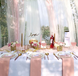 RÓŻOWE ZŁOTO najpiękniejsze dekoracje ślubne