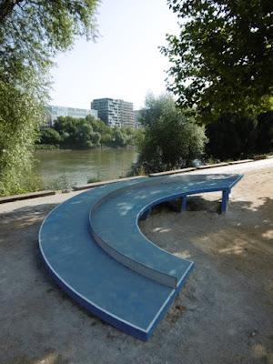 Ping Pong Park, Laurent Perbos, quai F. Mitterand, Nantes, malooka