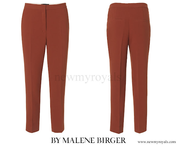 Crown Princess Victoria wore By Malene Birger Aurelisa Trousers