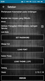 BBM MOD Custom Theme V2.13.1.14 APK