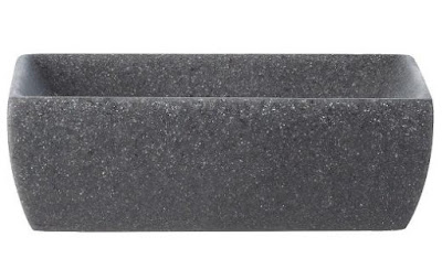 Charcoal Stone Soap Dish