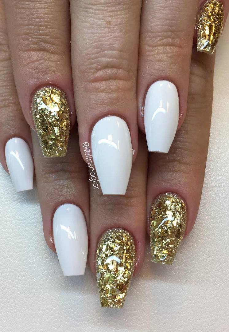 Gold and White Colors