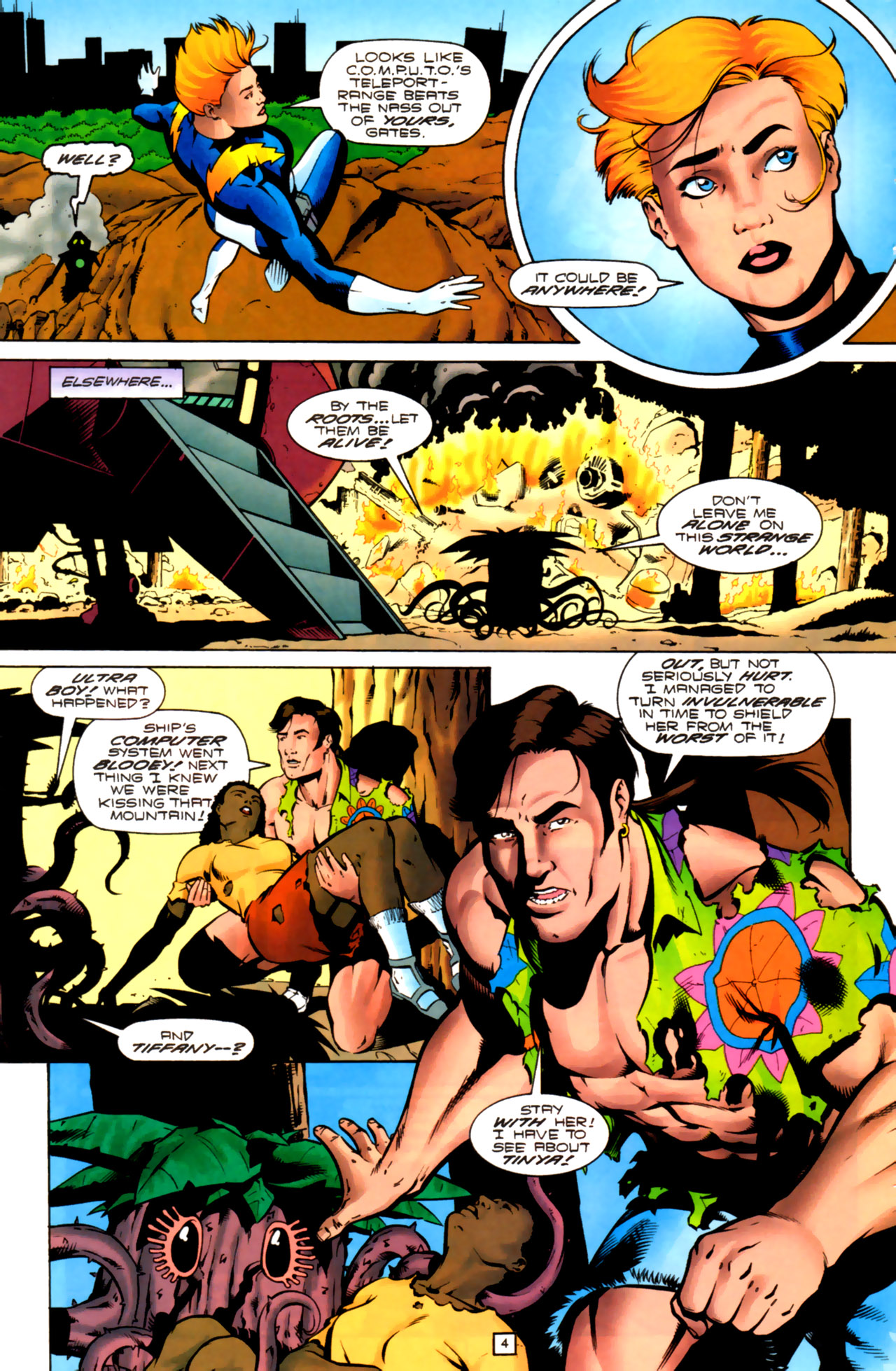 Legion of Super-Heroes (1989) 99 Page 4