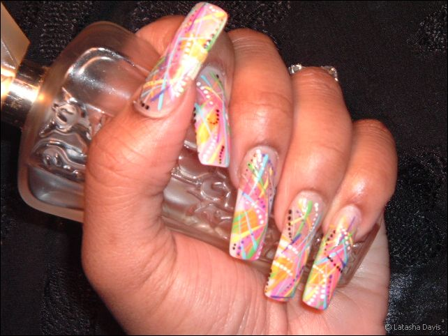 Long Nail Designs - Pccala