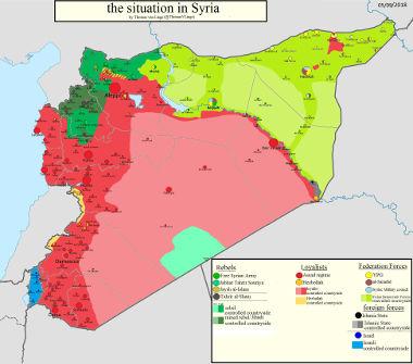 Siria, otra vez sopa