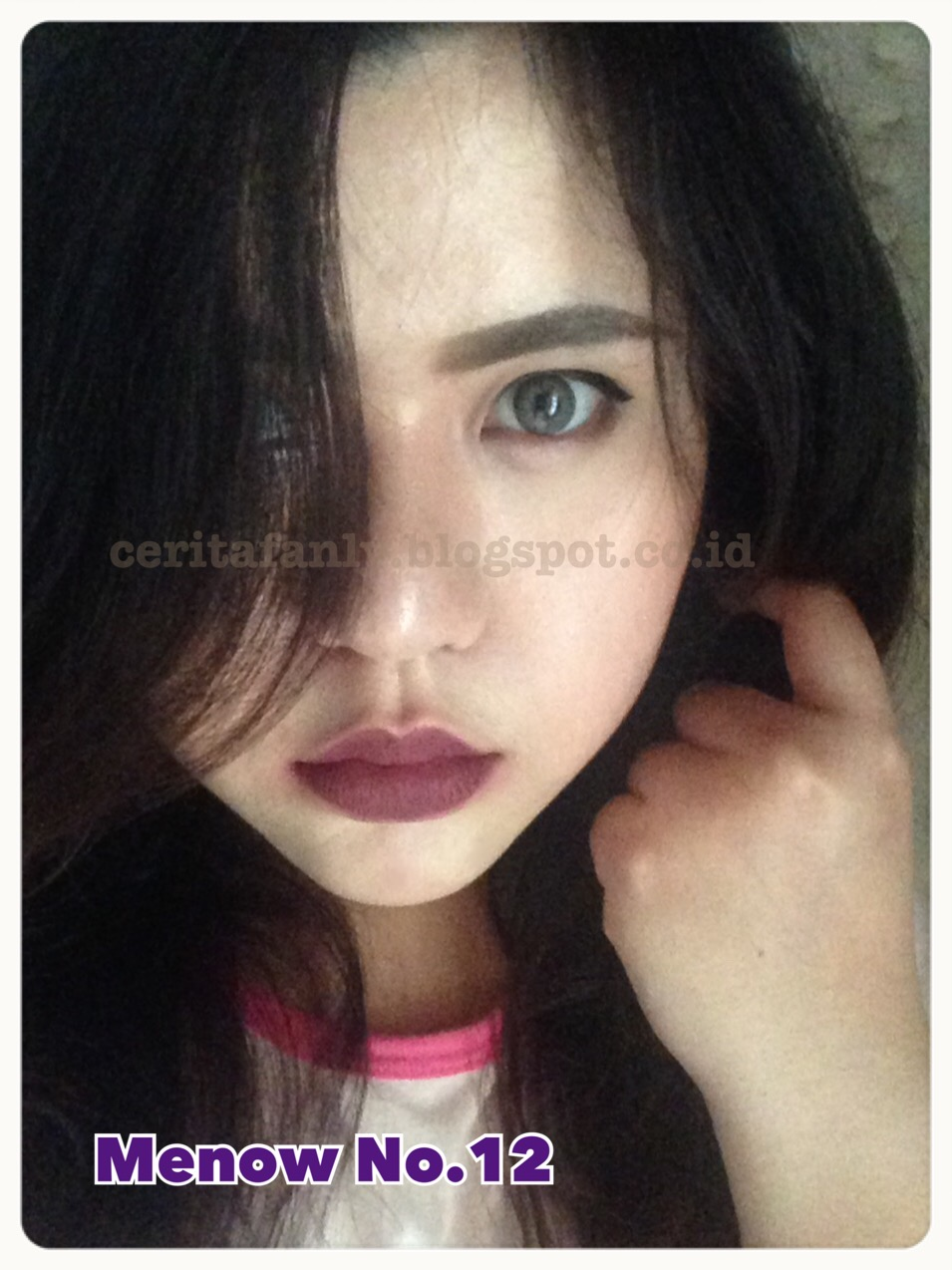 Review Menow Kissproof Lipstick Cerita Fanly Kiss Proof No16 Matte Me Now Lipstik My Opinion