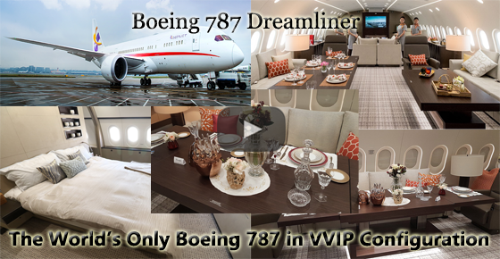 Boeing 787 Dreamliner - The World's Only VVIP BBJ