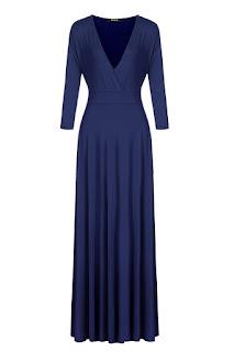 Stretch maxi dress