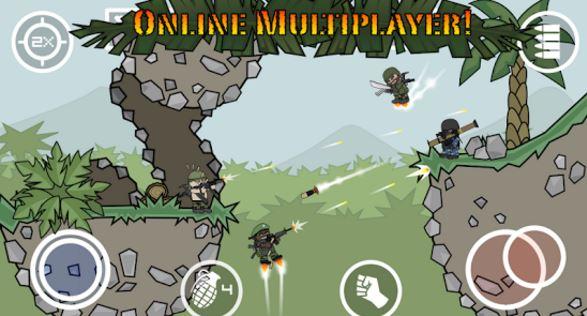 Doodle Army 2: Mini Militia Android Game
