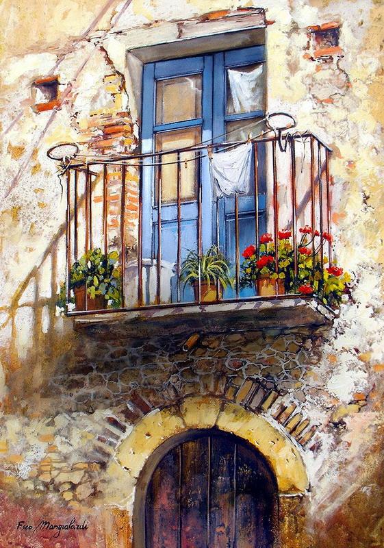 Cuadros Modernos Pinturas Y Dibujos Escaleras Entradas