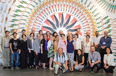 2017 BHL Annual Meeting Group photo at LKC Natural History Museum_ Singapore