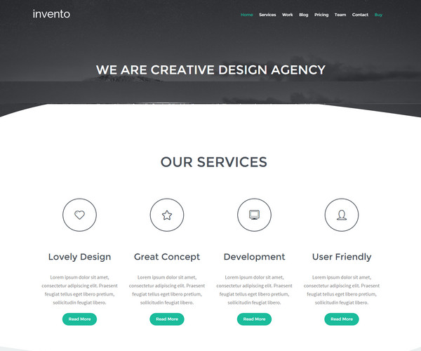 Invento Template blogspot