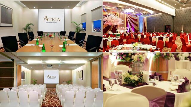 event di atria hotel, meeting i atria hotel, wedding atria hotel