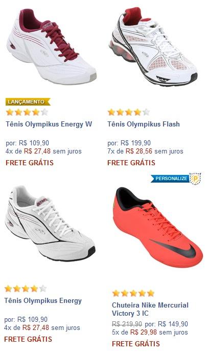 3daea8841b3 Rnoferta  Super ofertas na NETSHOES mais frete grátis Brasil.