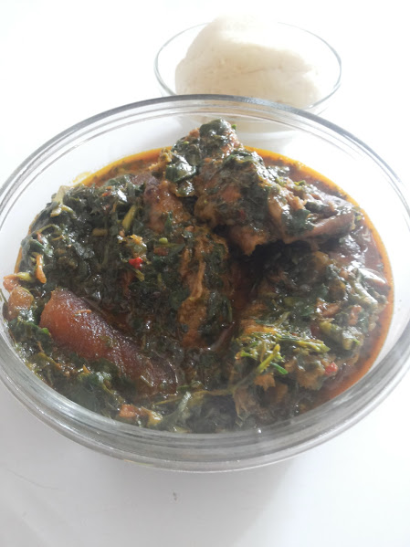 afang vegetable soup recipe