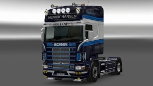 Henrik Hansen Scania 4 Series