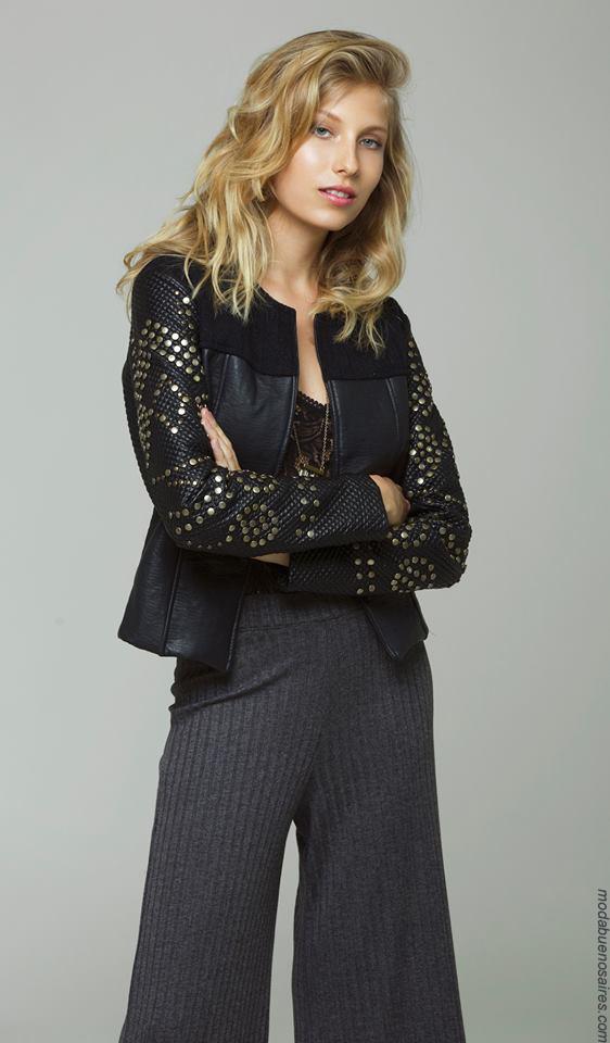 Moda mujer invierno 2017 ropa de mujer.