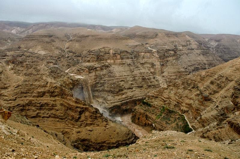 The Hanging Monastery of St. George's | The Judean Desert Valley of Wadi Kelt, Israel
